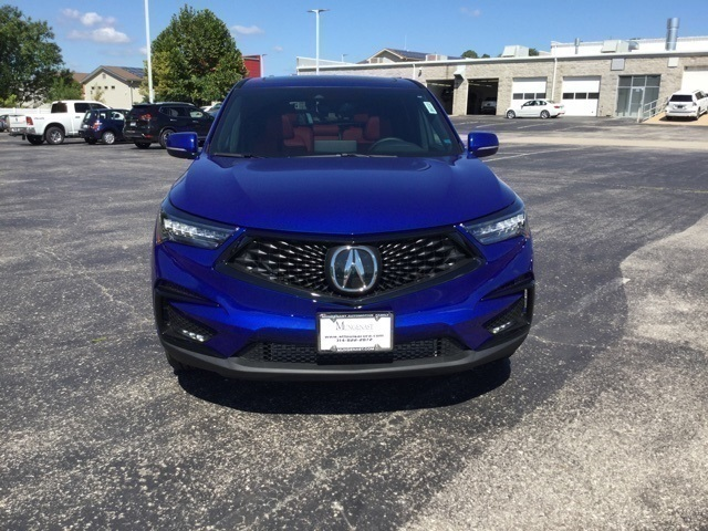 New 2019 Acura RDX with A-Spec Package